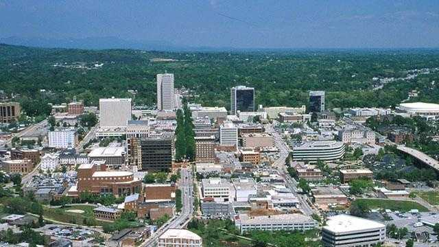 The land area of Greenville is 25.38 sq. miles.