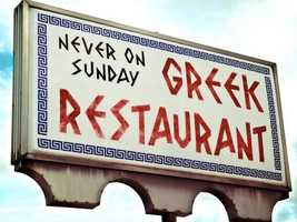 Never On Sunday: Recommended by Catherine Owen
