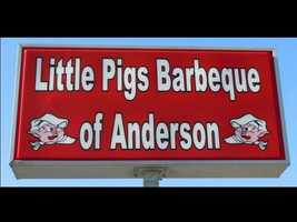 Little Pigs BBQ:  Recommended by Tracy Smith