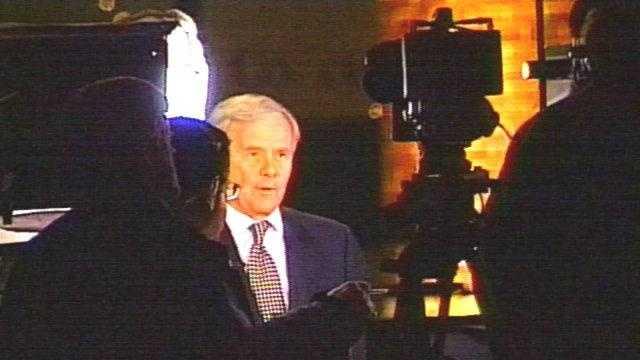 Tom Brokaw At Debate - 2802721