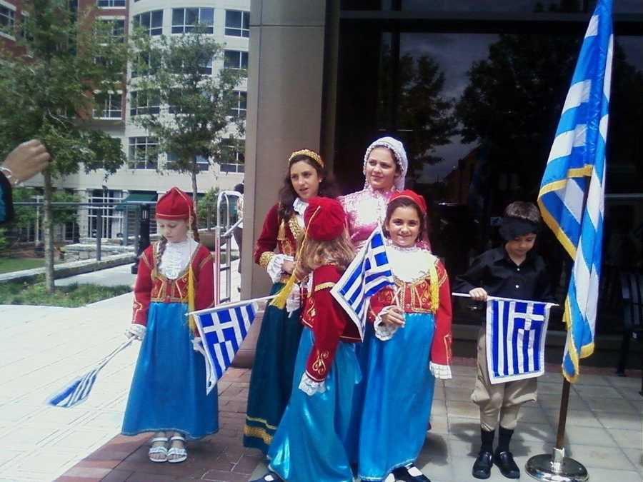 Go to the Greek Festival in Greenville. (Kim Quintero)
