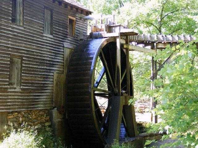 Watch corn grinding at Hagood Mill in Pickens. Also visit Yoder's Mill, which has been converted into a restaurant. (William Dale Porter)