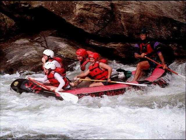 Go rafting on the famous Chattooga River  (Kisha Foster)