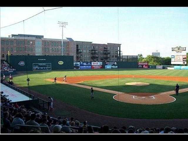 Spend an afternoon at Fluor Field (Josh Breed and Marc Dopher), and be sure to watch a Greenville Drive game (Kim Quintero)