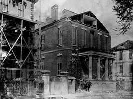 Residence of Bishop Lynchat on Broad Street in Charleston.