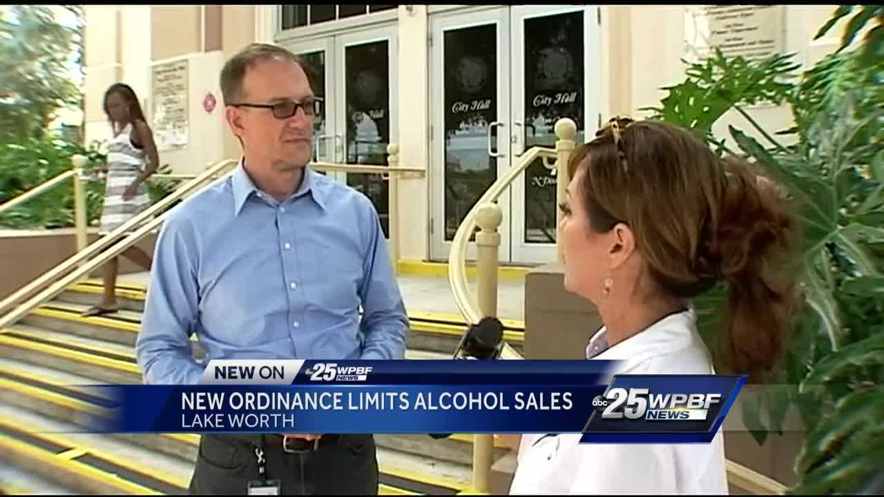 New ordinance limits alcohol sales in Lake Worth