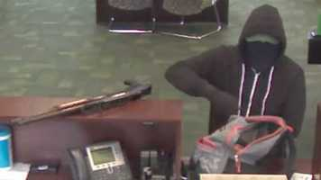 The Federal Bureau of Investigation needs the public's help in finding an armed gunman who  robbed a bank Sunday.