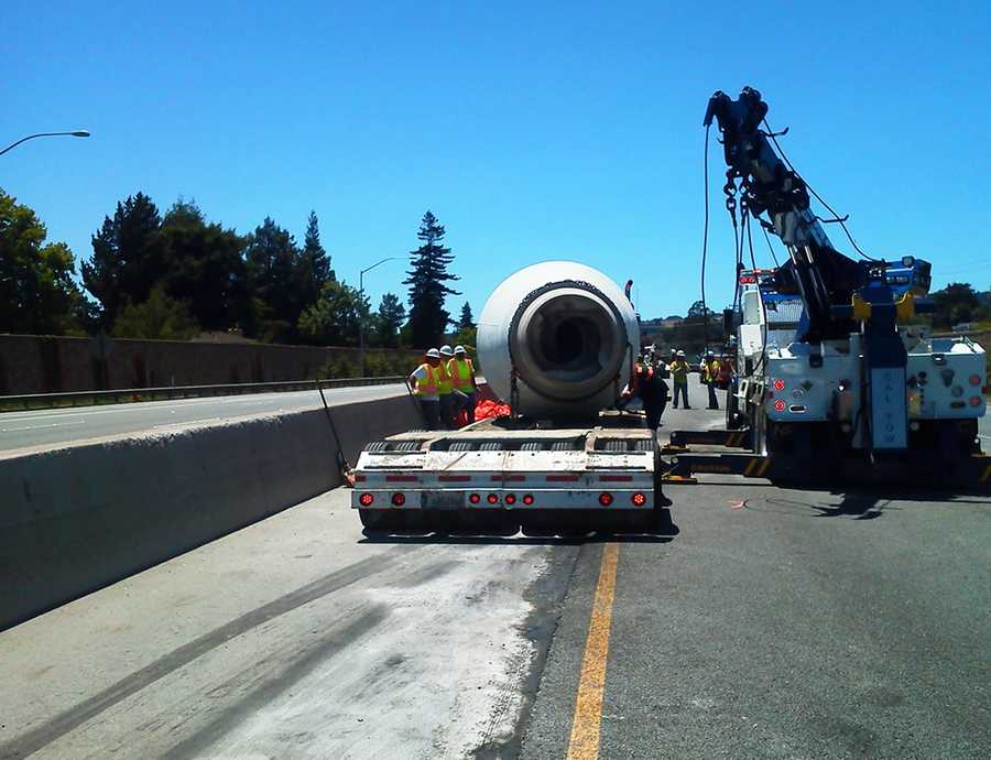A cement truck carrying 30,000 pounds of wet cement rolled on Highway 1 and created a 6-hour traffic nightmare for Santa Cruz motorists on June 25, 2012.