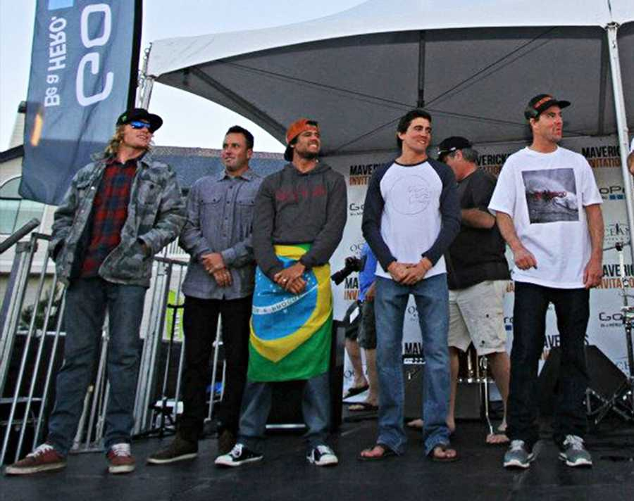 Zach Wormhoudt of Santa Cruz shredded into 2nd place, while smooth, mechanicaly-flawless wave rider Greg Long clinched 3rd. Alex Martins placed 4th, Mark Healey came in 5th, and Shawn Dollar placed 6th.