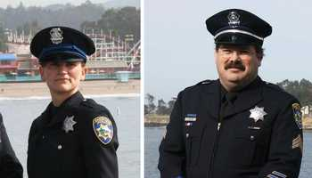 Sgt. Butch Baker and Det. Elizabeth Butler were the first Santa Cruz Police Department officers to be killed in the line of duty.