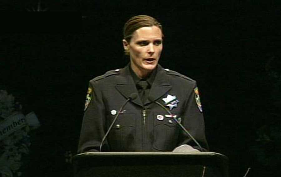 "Police Det. Wendy Bynes said Butler wished more women would pursue law enforcement careers.""She felt that there was a lack of women in this profession and wished that there were more willing to step up to the challenge,"" Bynes said."