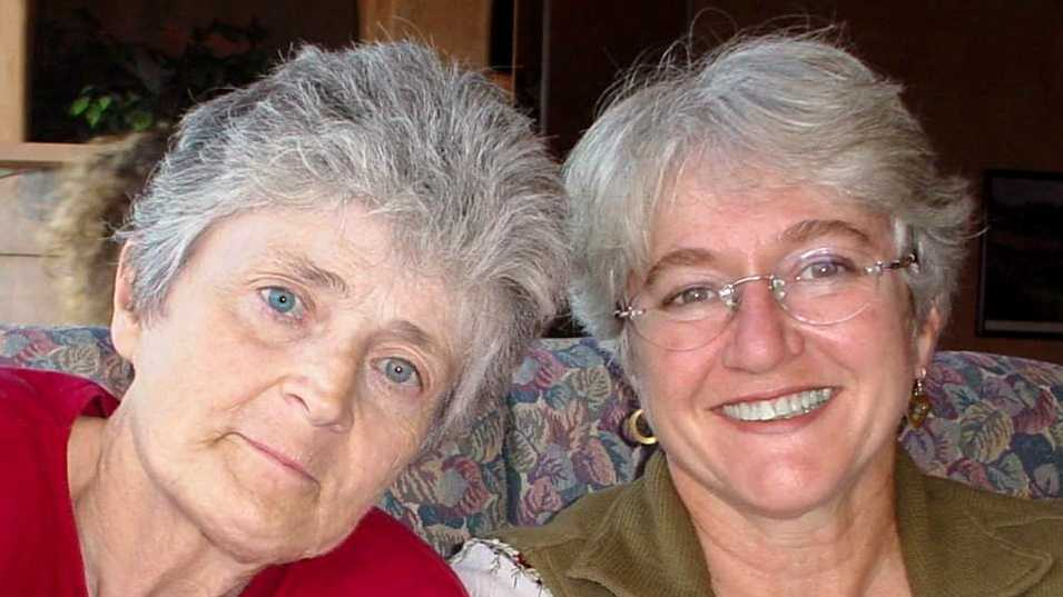 Sharon Daly, left, and Linda Larone, right, were best friends.