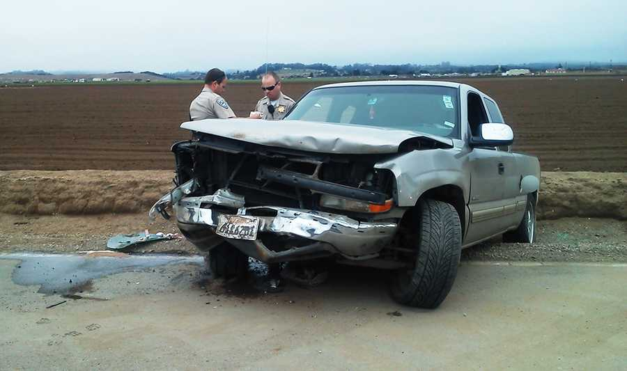 On June 24, 2013, a pickup truck crashed on Espinosa Road in Salinas and at least three people were injured.