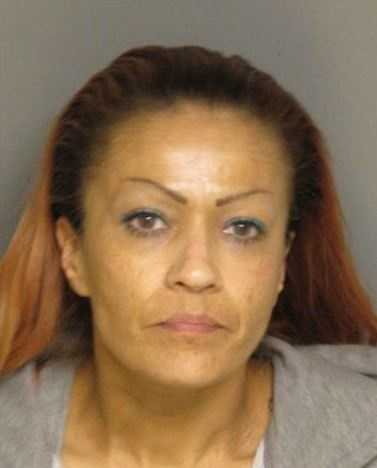 Recia Esteban was one of 11 people arrested during a gang sweep in Salinas Friday. The crime crackdown was in response to a two-week homicide spree.