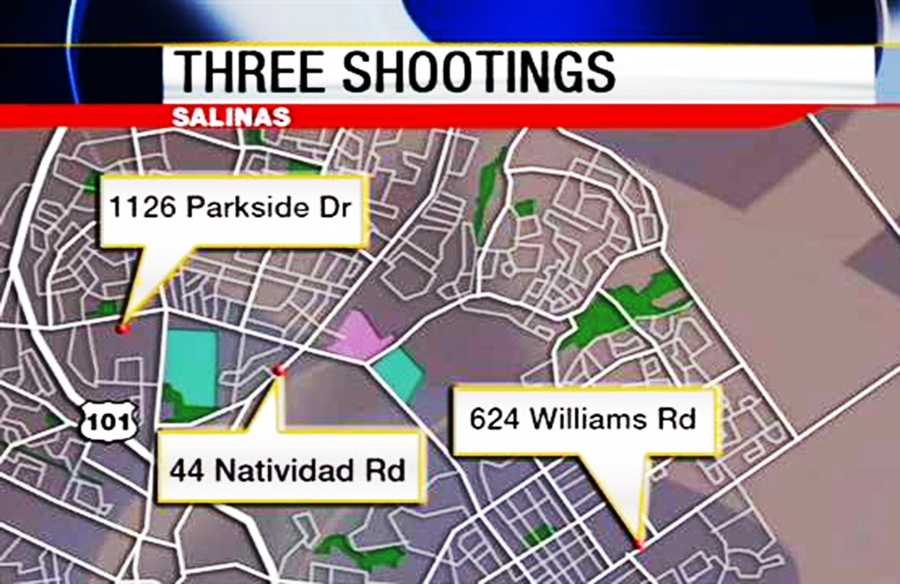 Three unrelated shootings on Aug. 4 and Aug. 5 left four people dead and five injured.