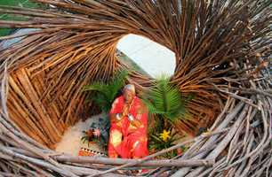 Fann has traveled the world showcasing his art. He built dozens of nests for a wide variety of clients.