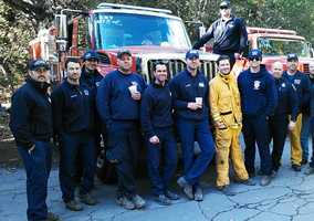 After an intense fire fight on Tuesday and Wednesday, some of the 1,000 firefighters in Big Sur headed home Thursday afternoon.