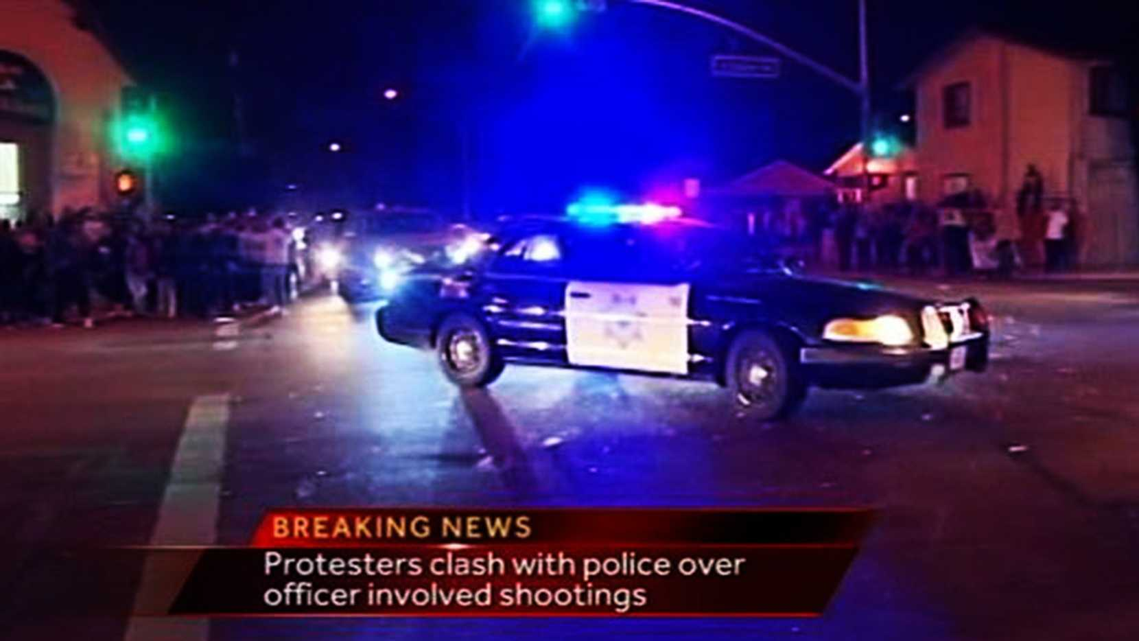 MAY 21, 2014: Paramedics and police were trying to help ConstantinoGarcia when demonstrators threw bottles, bricks, rocks, and other heavy objects at them. Garcia was still clinging to life when a officer began giving him CPR. Protesters hurled a bottle that hit the officer in the head, injuring him. Paramedics then rushed the victim into an ambulance so they could continue giving CPR.
