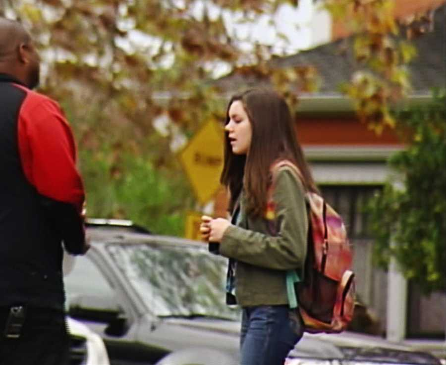 This student was surprised when a campus resource officer notified her that Santa Cruz High would be closed all day.