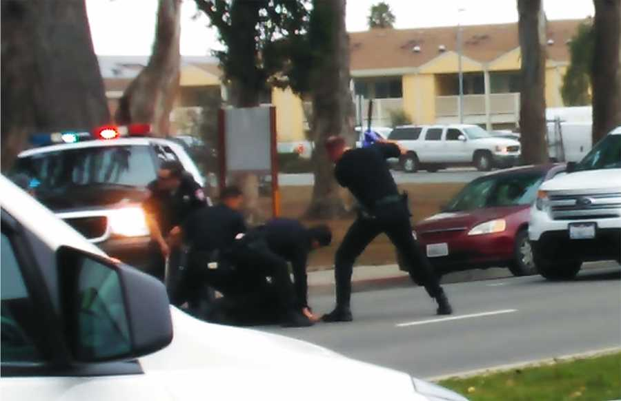 The violent arrest was recorded by a witness' cellphone, and made national headlines because of concerns over police brutality.