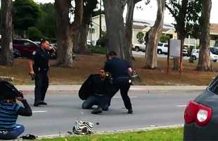 On June 5, five Salinas Police Department officers arrested Jose Velasco and some beat him repeatedly with batons while he was on the ground.