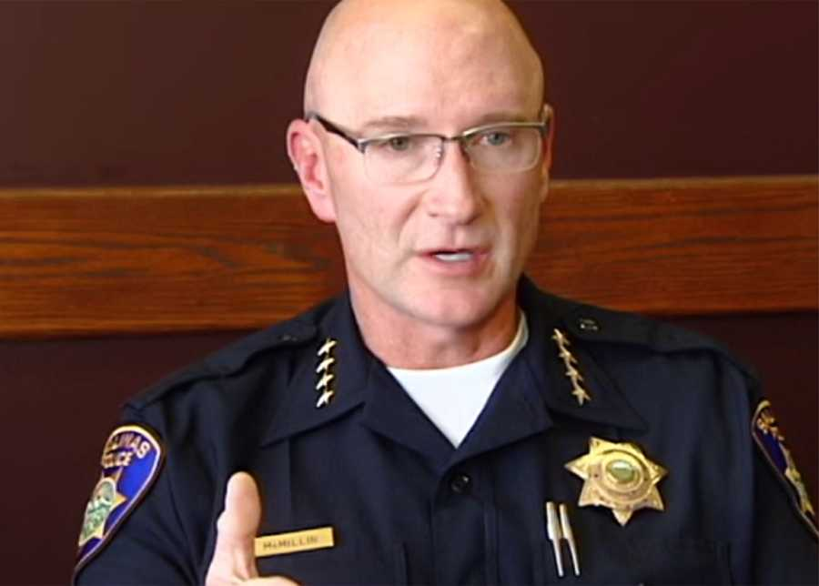"""McMillin emphasized that when someone is on the ground, it does not mean they are no longer a threat to officers and the public. """"I had my nose broken one time by a guy who was on the ground,"""" he said."""