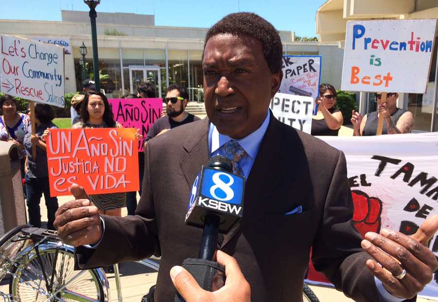 An attorney who specializes in police brutality cases and represented Rodney King in Los Angeles announced he will be representing the Velasco family. Civil rights attorney John Burris said he may file a lawsuit against the Salinas Police Department.
