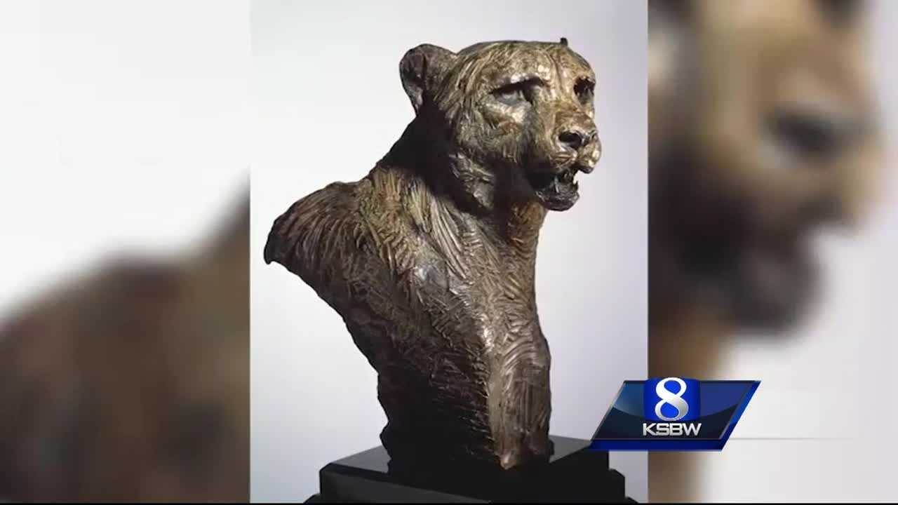 Carmel art theft caught on surveillance video