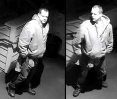 The Santa Cruz County Sheriff's Office released these surveillance images of a man seen prowling around the area before the fires ignited.