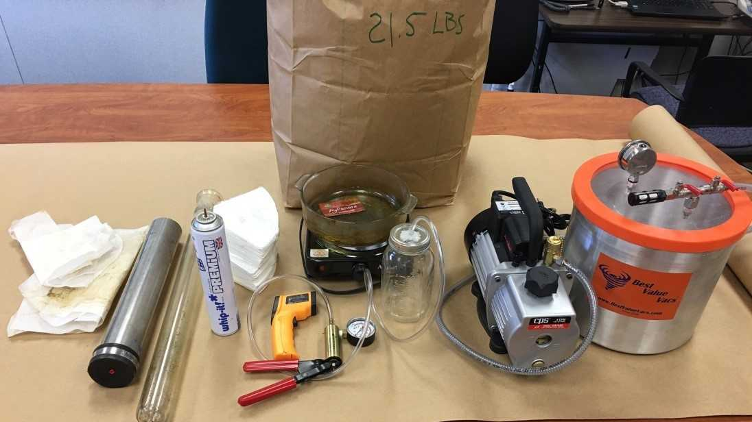 Authorities find Butane Honey Oil Lab, arrest 2 people