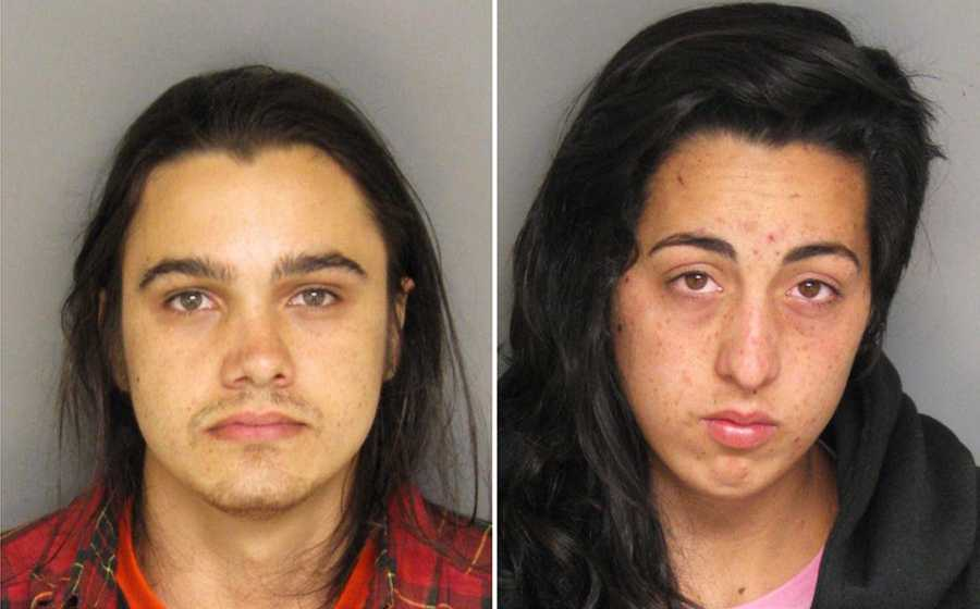 Justin Kelly, 27, of Monterey, was tackled during a police chase by a good Samaritan. Monterey police said they found a butane honey oil lab and heroin inside his house. Camille Voye, 23, of Monterey, was arrested for possessing drugs, police said.