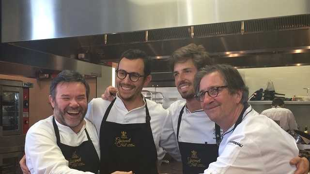 French father, son chefs cook in Carmel