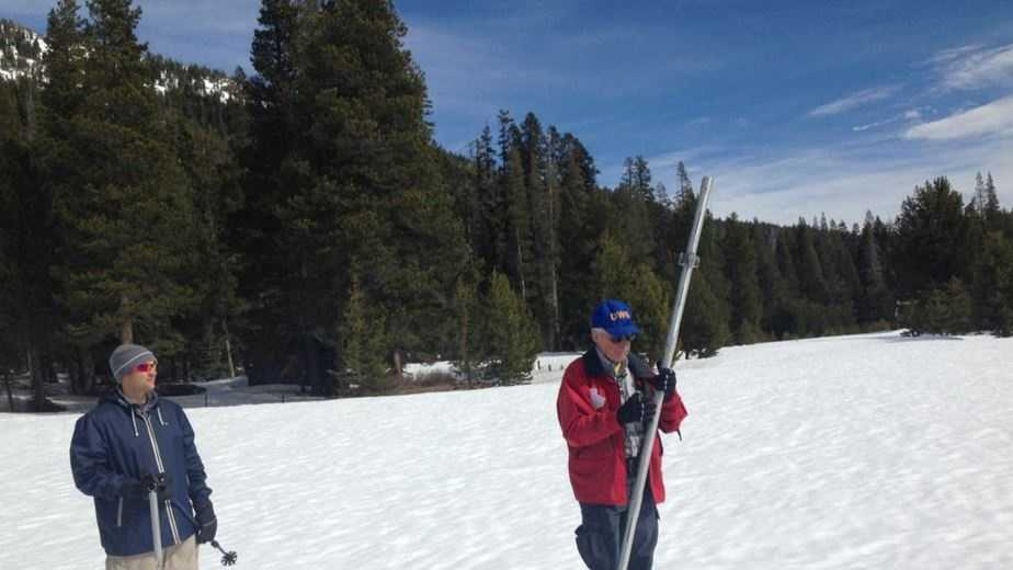 sierra snow survey