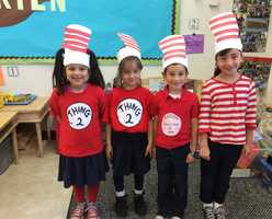 Sacred Heart School in Salinas celebrated Read Across America and Dr. Seuss' birthday Wednesday.