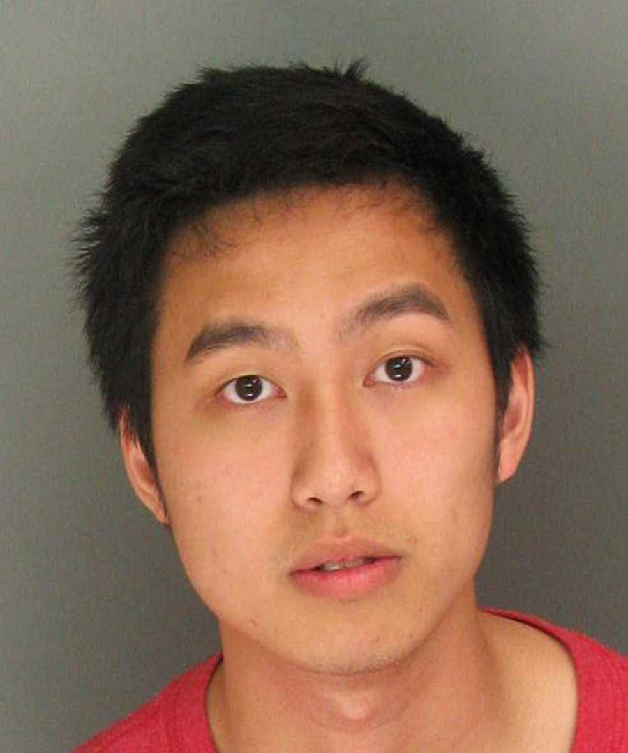 Nathan Tieu / Arrested on the 200 block of Castillion Ter / Charges: Conspiracy and Possession of Controlled Substance for Sale