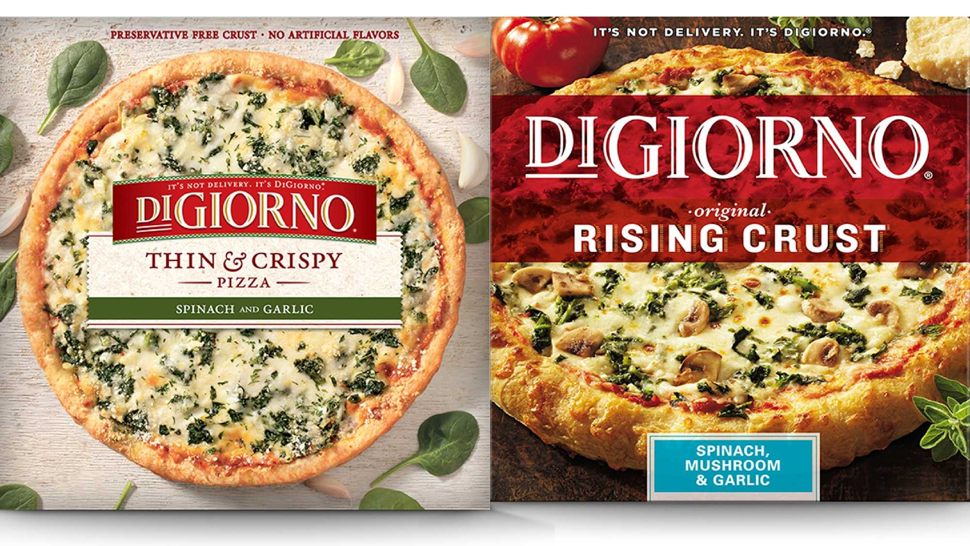 Recalled DiGiorno pizzas