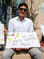 "CommUnity Peace March organizers wrote, ""We all want the same thing, a loving peaceful community. (Our children) are the next generation. They deserve our best so they could feel happy, safe, and confident that they have a future here in Salinas California."""