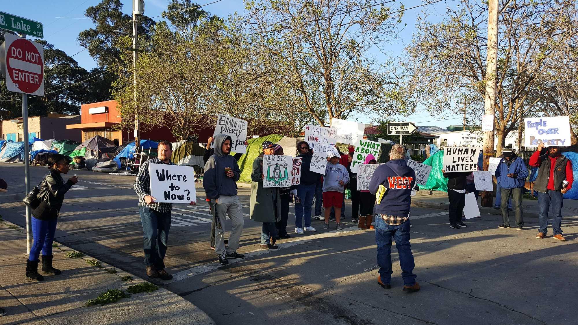 Salinas sweep