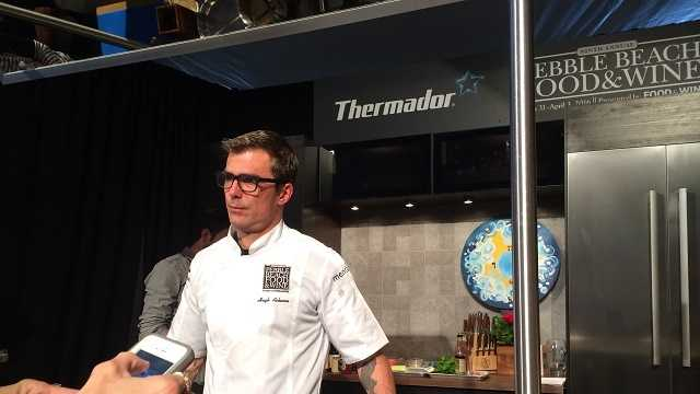 Professional chefs provide demos at Pebble Beach Food & Wine