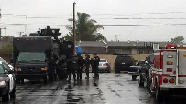 Salinas standoff