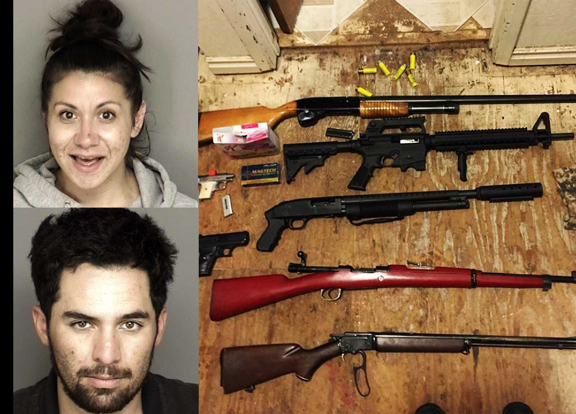 arrested in salinas prunedale as deputies make gun bust