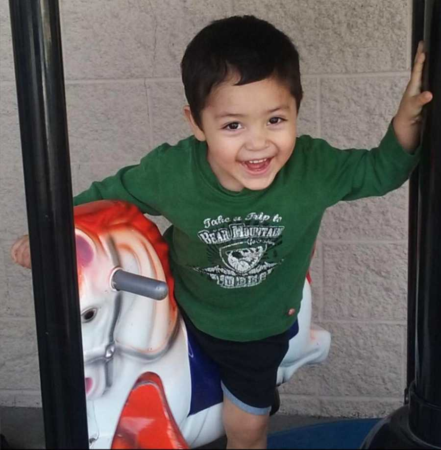 Officers from the Soledad Police Department, FBI, Monterey County District Attorney's Office and Gonzales Police Department teamed up to find the car thief who endangered Jacob Vargas.