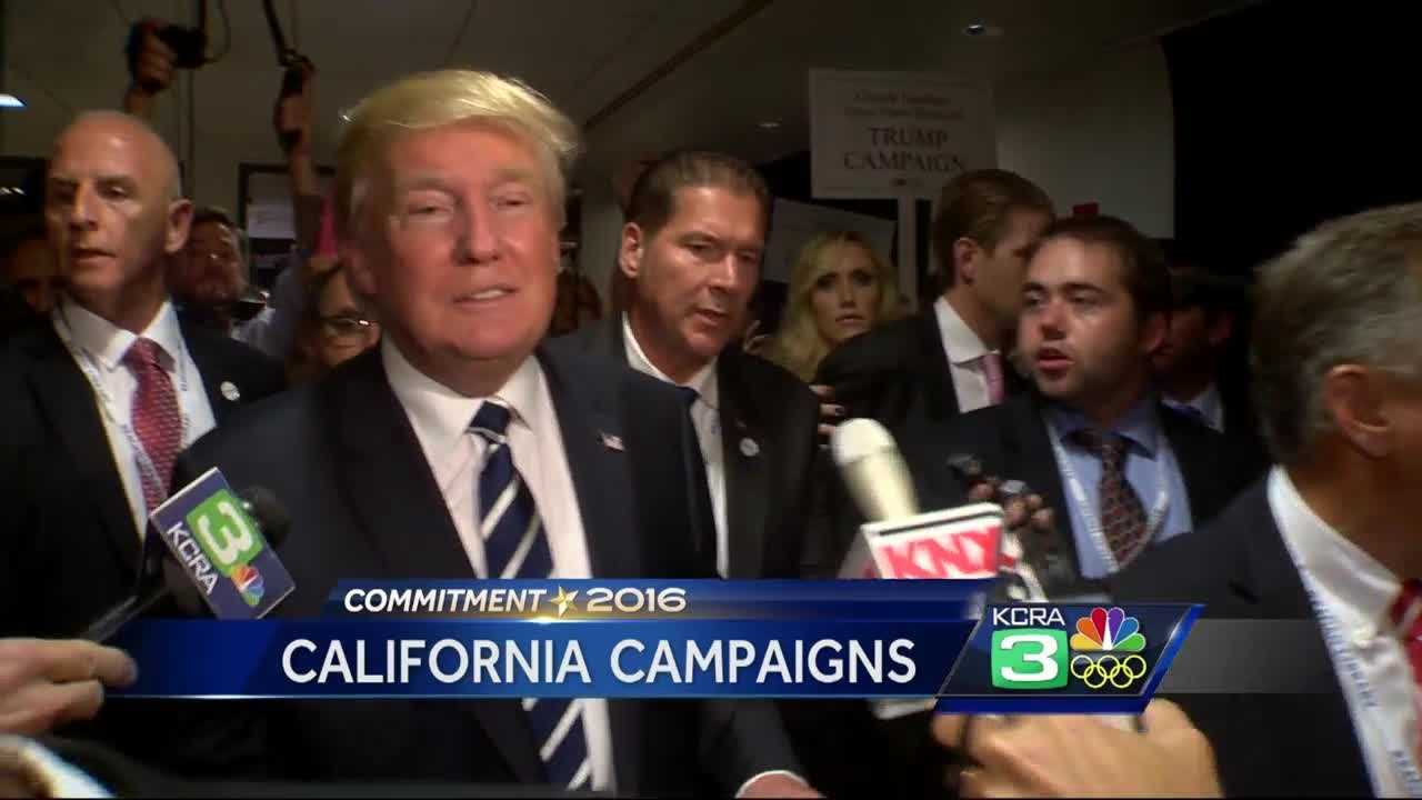 Trump begins California campaign while voters mobilize to stop him