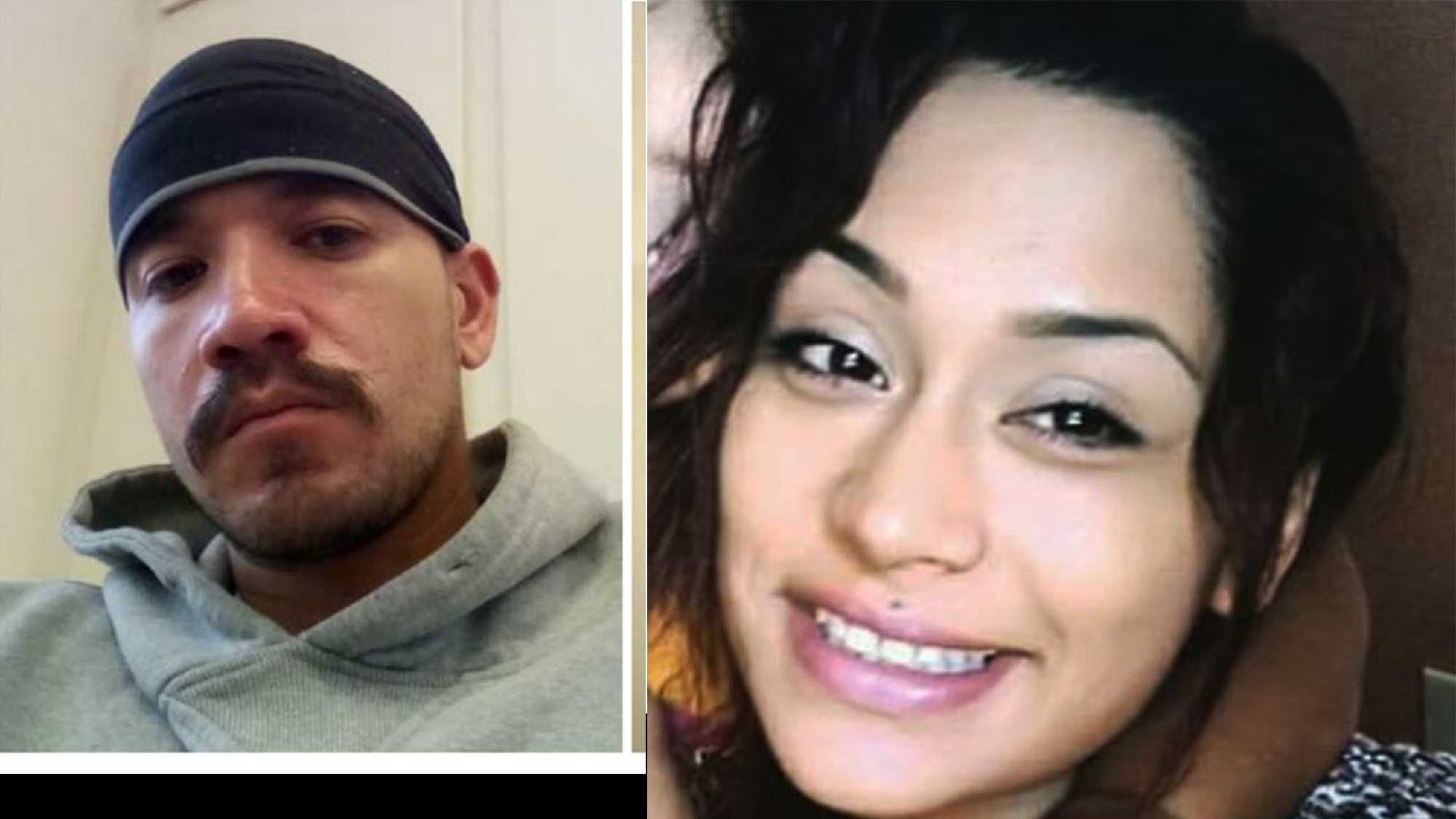 Ernesto Hernandez, left, and Abigail Gasca-Chavez, right