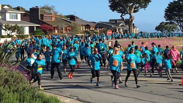 Record numbers participate in By the Bay 3K