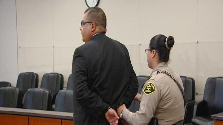 Bobby Carrillo, a former King City police sergeant who was involved in a department-wide towing scandal, was sentenced to one year in the county jail Friday.