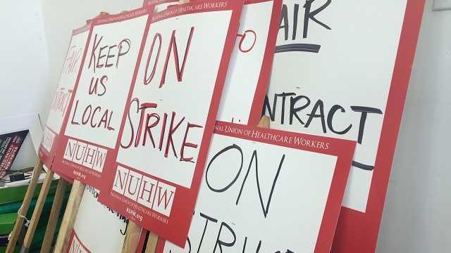 Salinas Valley Memorial Hospital plans to strike next week