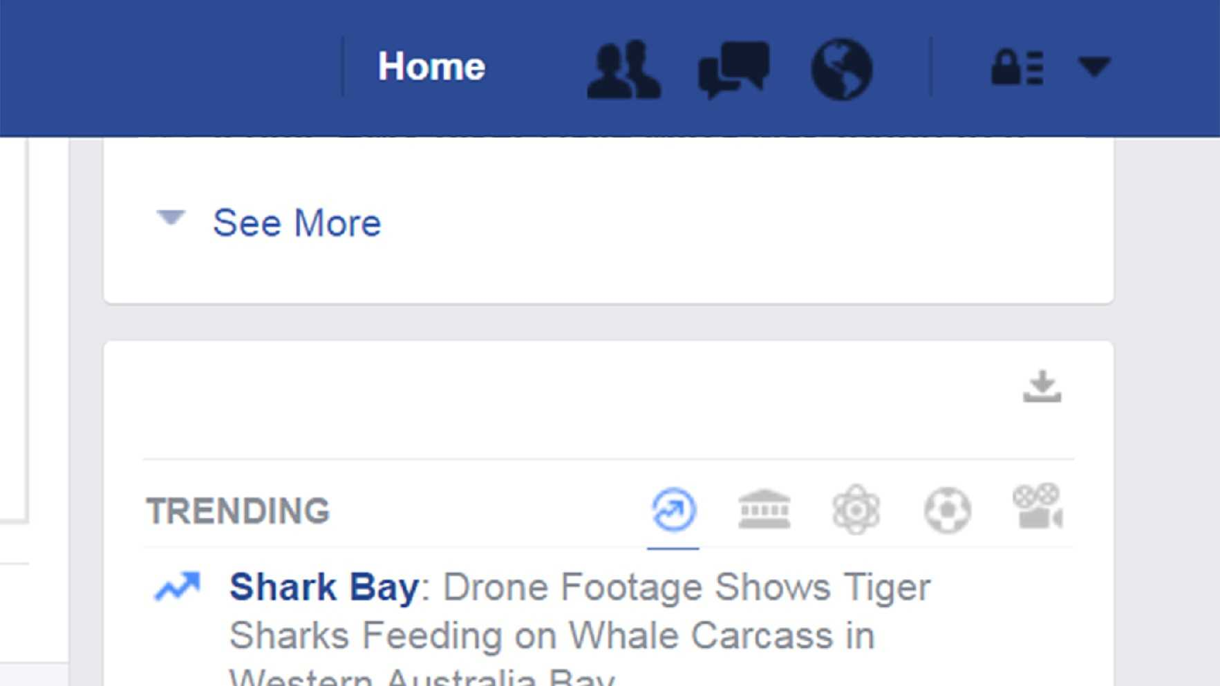 Trending on Facebook Tuesday