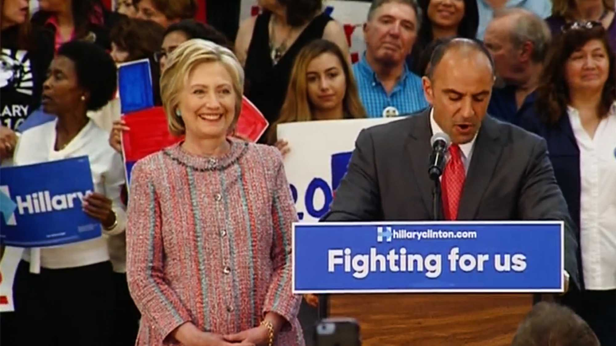 Hillary Clinton in Salinas (May 25, 2016)