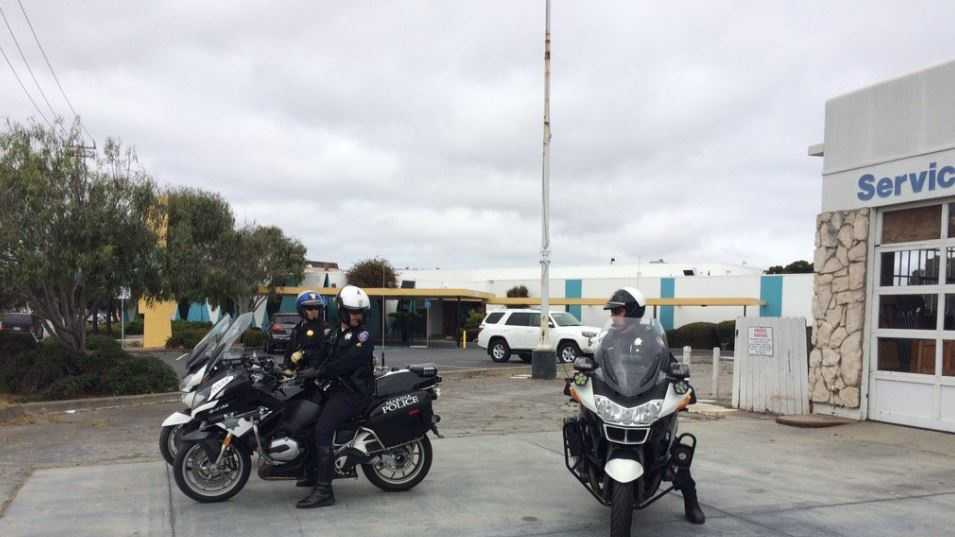 Officers from across the county were on patrol in Monterey on Thursday, pulling over traffic violators as part of a STOPP operation enforcement.